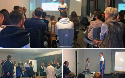 Mentaltrainer Michael von Kunhardt hielt Tennis-Mental-Workshop in der nensel academy!
