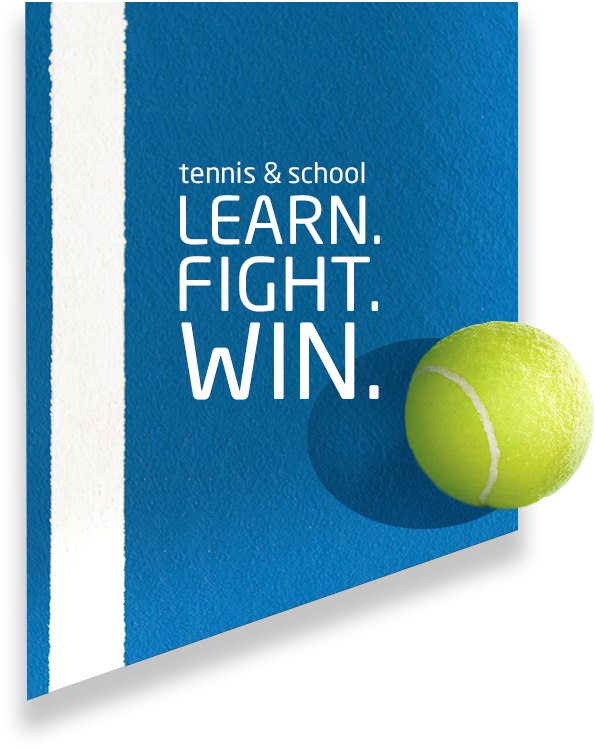 Tennis und Schule vereint – Tennisakademie – Learn. Fight. Win.