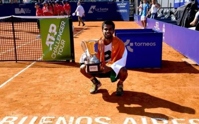 Sumit Nagal takes the Title in Buenos Aires!