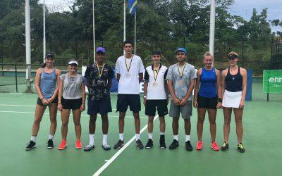 Gute Gesamtleistung beim ITF Junior in Curacao!