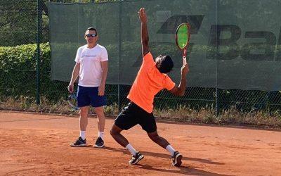 Sascha im Gastbeitrag auf tennisnet.com
